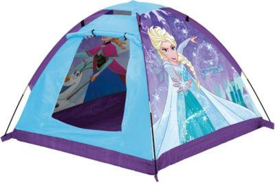 """Палатка с фонарем John """"Холодное сердце"""", голубая"""