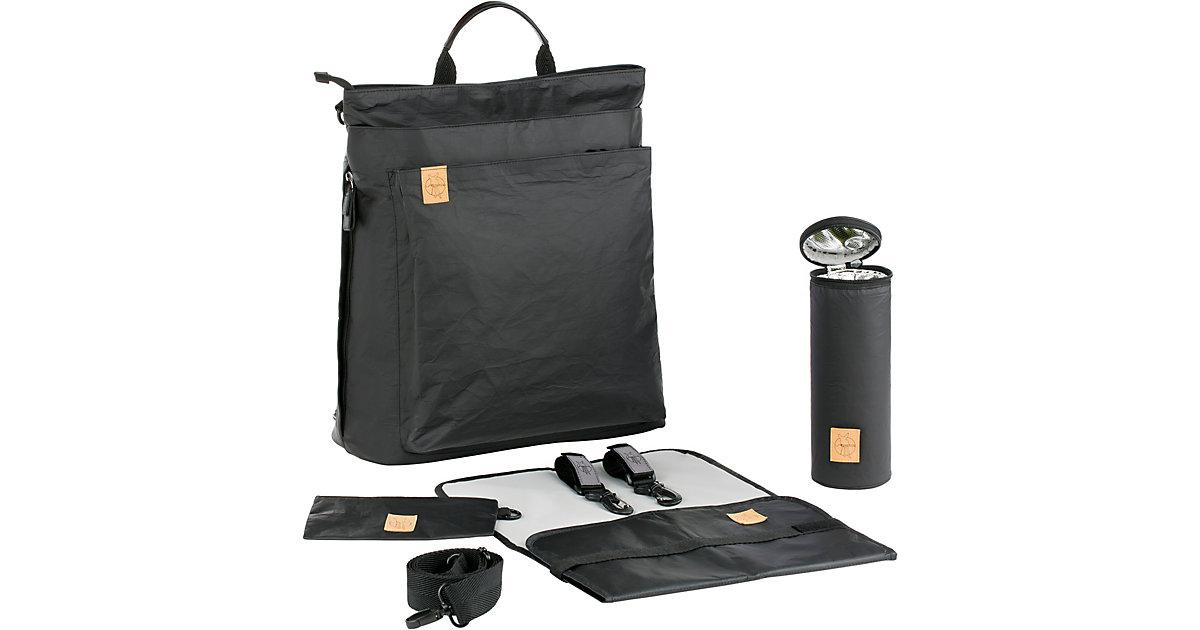 LÄSSIG · Wickelrucksack Tyve, Backpack, Greenlabel, black