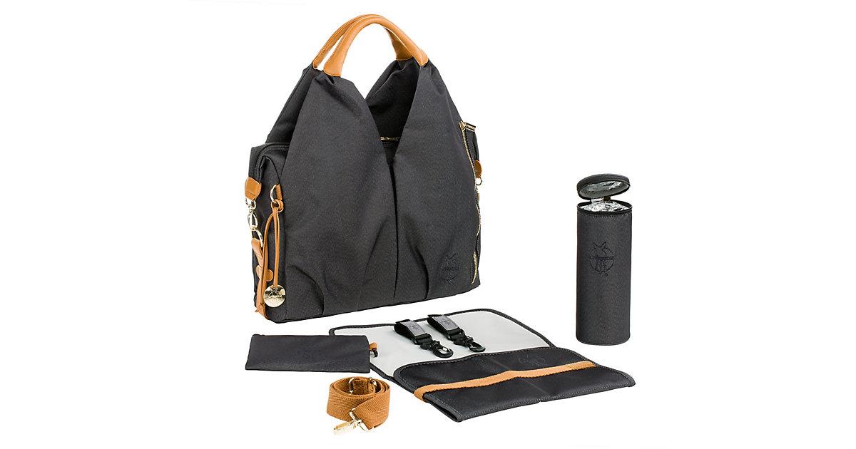 LÄSSIG · Wickeltasche, Greenlabel, Neckline Bag, denim black