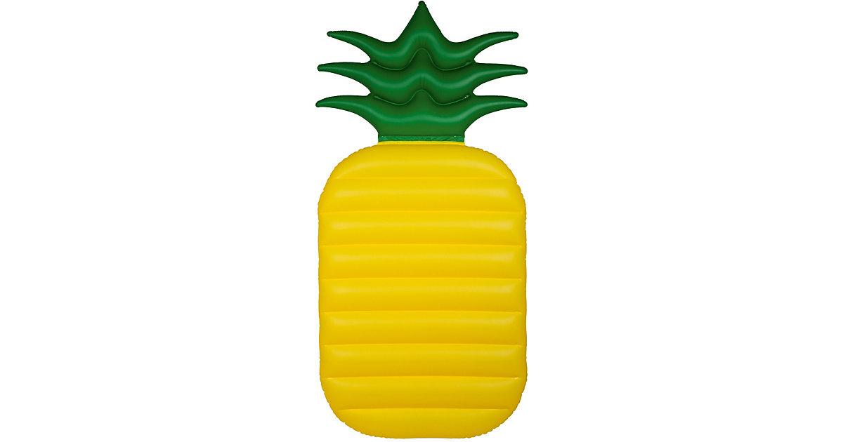 Luftmatratze Ananas gelb/grün | Baumarkt > Camping und Zubehör > Luftmatratzen und Isomatten