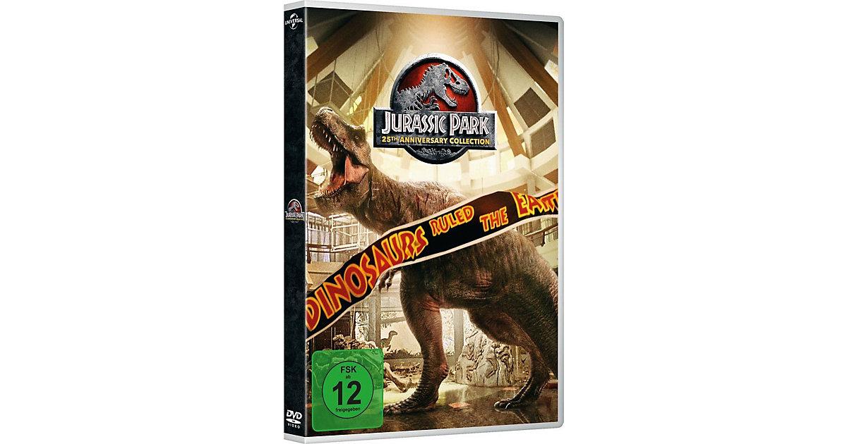 DVD Jurassic Park 1-3 + Jurassic World 1 (4 DVDs)