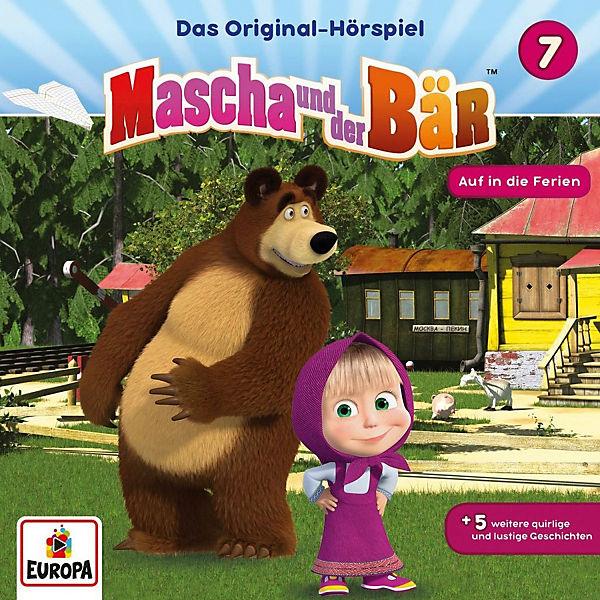 cd mascha und der bär 07  auf in die ferien mascha und