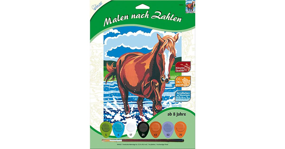 Malen nach Zahlen Pferd