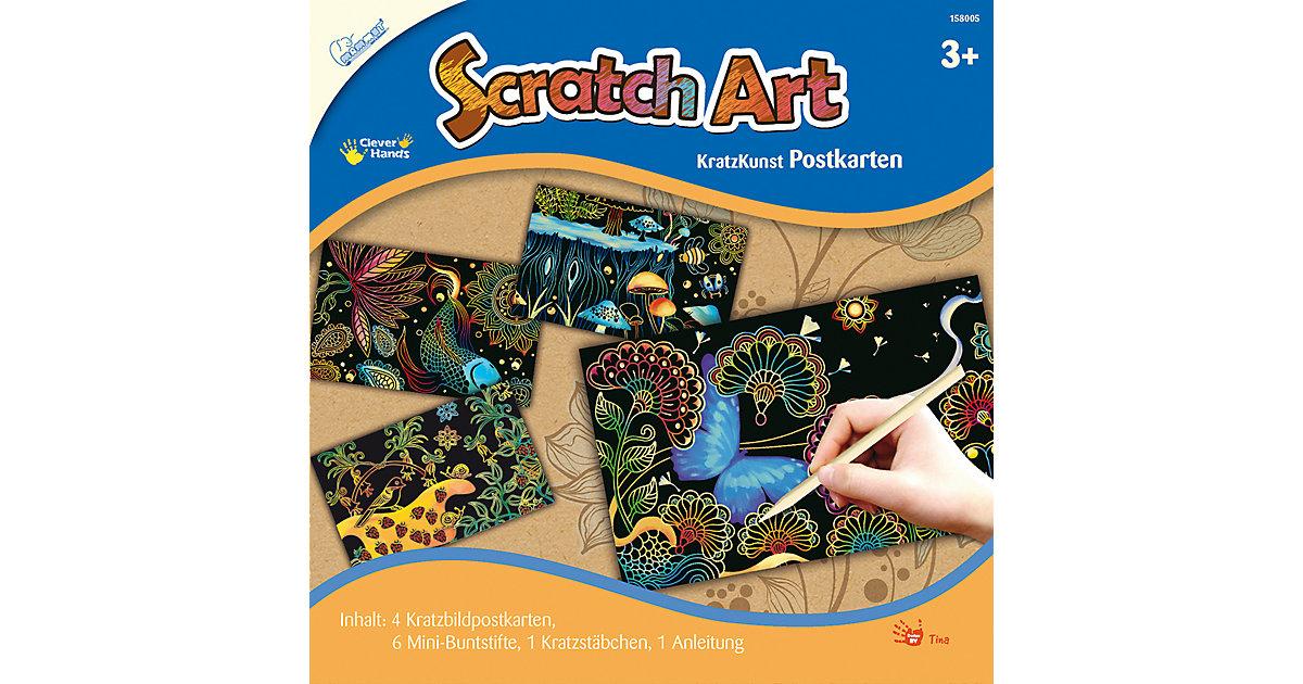 Scratch Art Postkarten