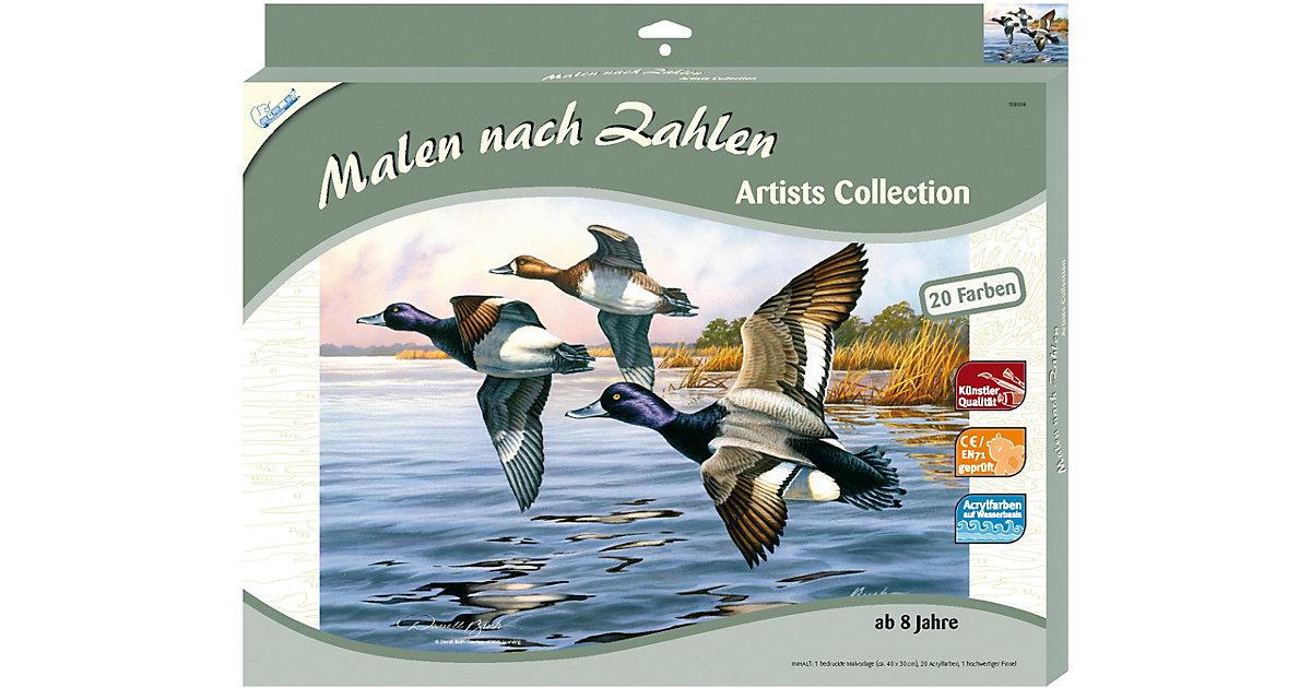 Malen nach Zahlen Artists Collection groß Enten