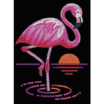 Sequin Art Flamingo
