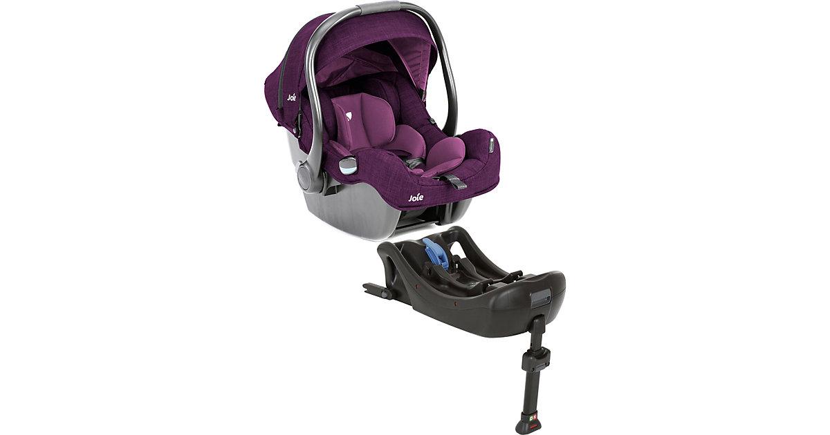 Joie · Babyschale i-Gemm inkl. i-Base, Lilac Gr. 0-13 kg