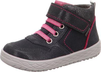 superfit, Sneakers High HEAVEN für Mädchen, Weite M4, GORE TEX, grau