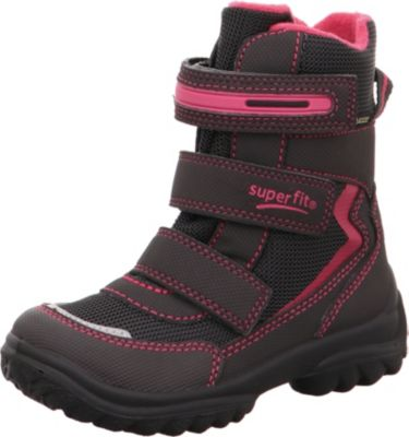 Winterstiefel SNOWCAT für Mädchen, Weite W5, GORE TEX, gefüttert, für breite Füße, superfit
