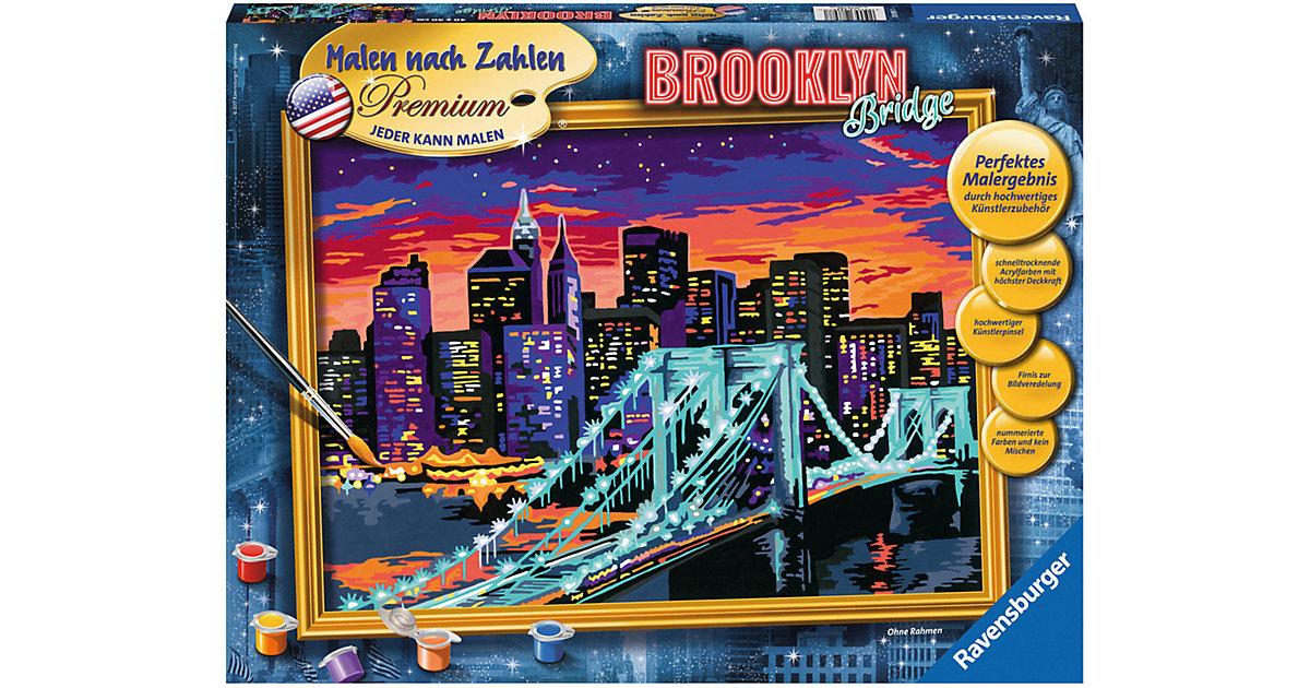 Malen nach Zahlen Premium Brooklyn Bridge
