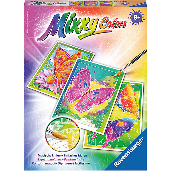 Mixxy Colors Midi Schmetterlinge