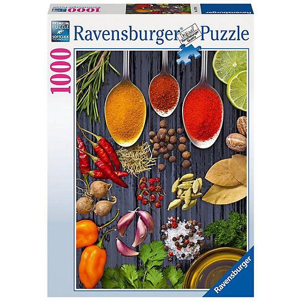Puzzle 1000 Teile Allerlei Gewürze, Ravensburger