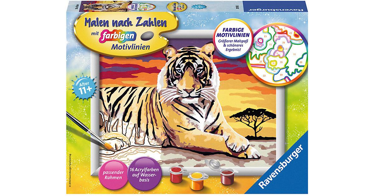 Malen nach Zahlen Serie D Majestätischer Tiger