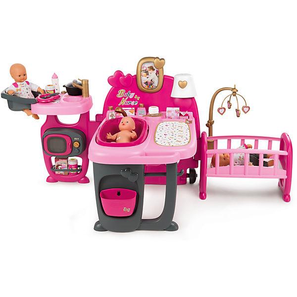 Baby Nurse Puppen Spielcenter Smoby Mytoys