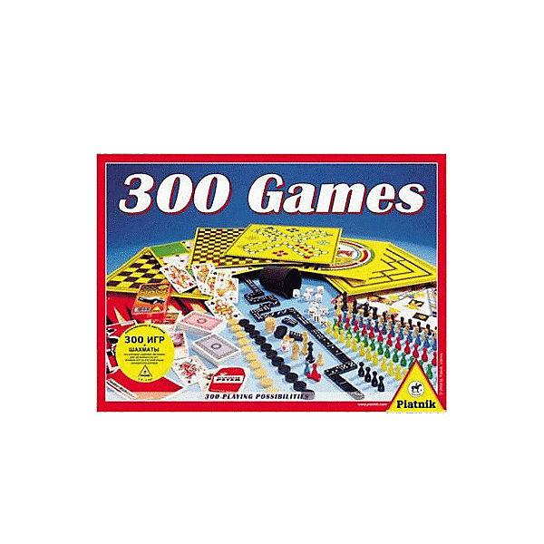 """Набор логических игр Piantik """"300 игр + шахматы"""""""