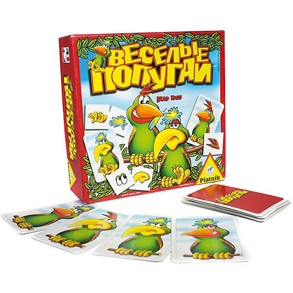 Настольная игра Piatnik «Веселые попугаи»