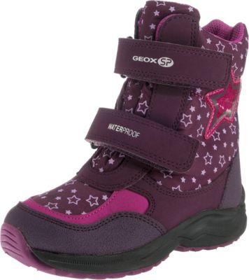 Winterstiefel ROBY für Mädchen, waterproof, warmfutter, GEOX