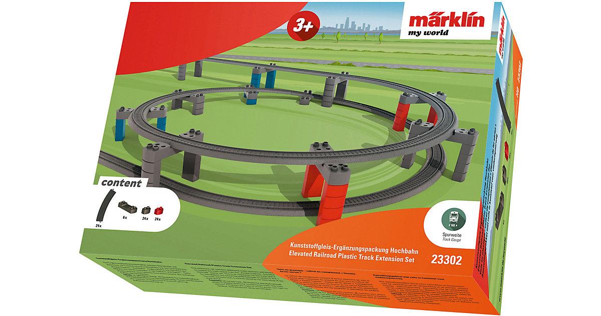 "Märklin 23302 my world - Kunststoffgleis-Ergänzungspackung ""Hochbahn"""