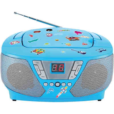 CD-Player mit Radio CD60 - Kids (blau)