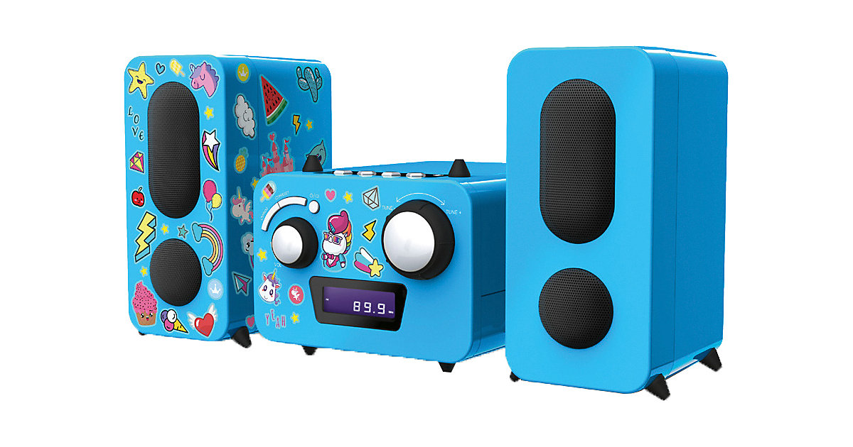 Stereo Music Center MCD11´´Einhorn´´ (blau)
