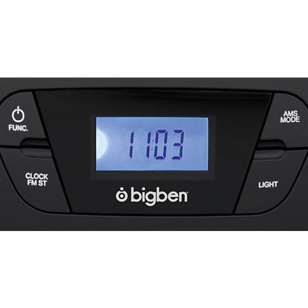 CD-Player mit Radio CD61 (schwarz), bigben I2FJkH