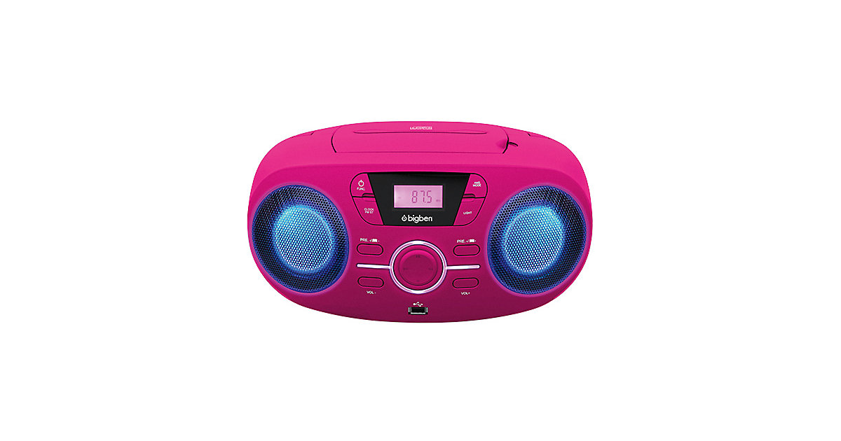 CD-Player mit Radio CD61 (pink)