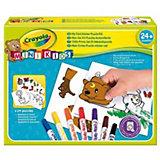 """Набор для творчества Crayola """"Мой первый пазл с наклейками"""""""