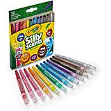 Ароматизированные выкручивающиеся мини-восковые мелки Crayola, 12 штук