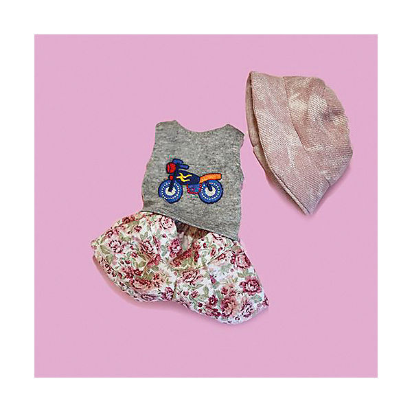 """Одежда для куклы Карлотты Vestida de Azul """"Лето Морской стиль"""", с панамкой"""
