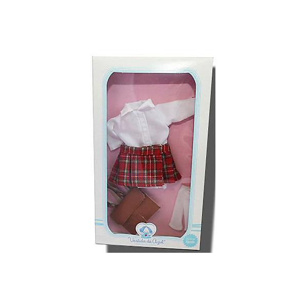 """Одежда для куклы Карлотты Vestida de Azul """"Школьница"""""""