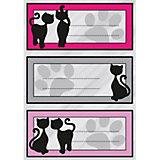"""Набор наклеек для тетрадей Herma """"Vario"""" Черный кот"""