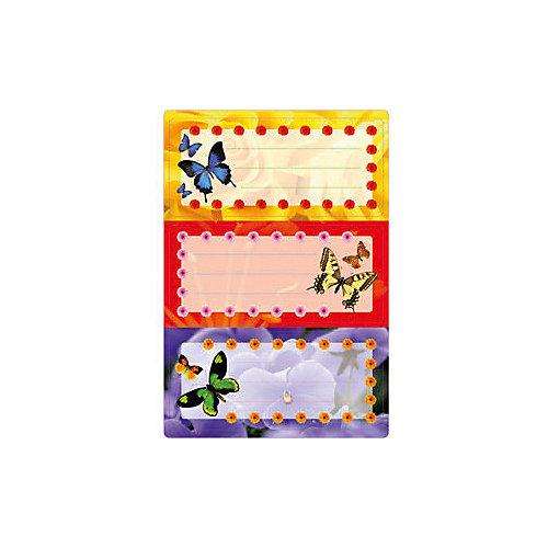 """Набор наклеек для тетрадей Herma """"Vario"""" Цветные бабочки от Herma"""
