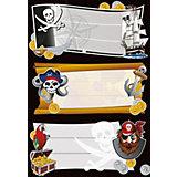 """Набор наклеек для тетрадей Herma """"Vario"""" Золото пиратов"""