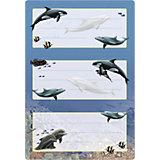 """Набор наклеек для тетрадей Herma """"Vario"""" Дельфины"""