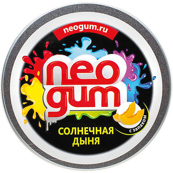 """Жвачка для рук Neogum """"Солнечная дыня"""" с запахом"""