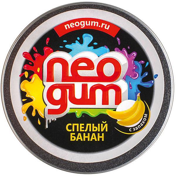 "Жвачка для рук Neogum ""Спелый банан"" с запахом"