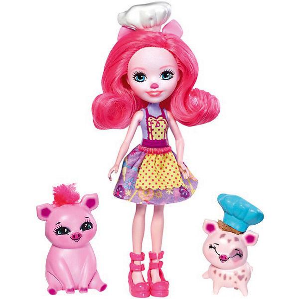 Набор с мини-куклой Enchantimals Весёлая пекарня Петти Пиг, 15 см