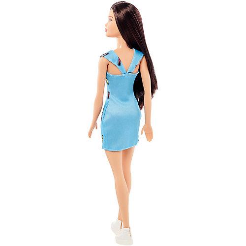 """Кукла Barbie """"Стиль"""" брюнетка в голубом платье, 28 см от Mattel"""