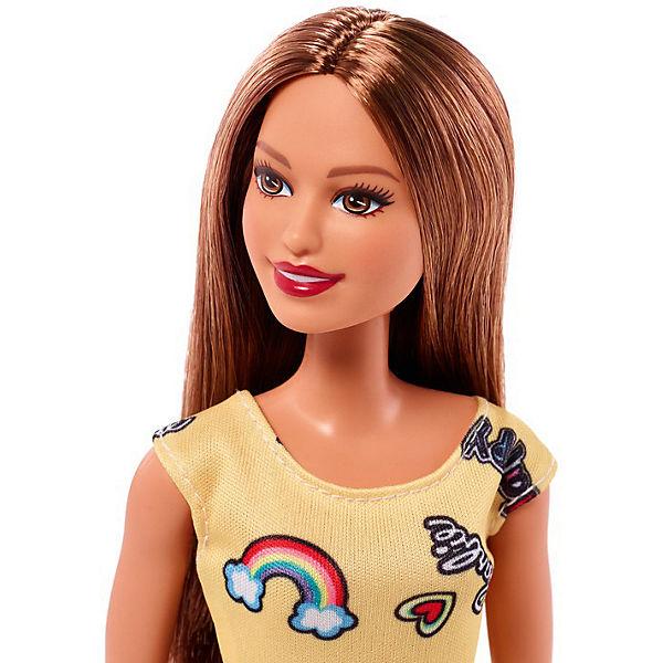"""Кукла Barbie """"Стиль"""" в жёлтом платье, 28 см"""