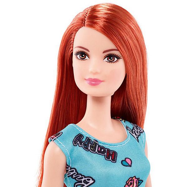 """Кукла Barbie """"Стиль"""" рыжая в голубом платье, 28 см"""