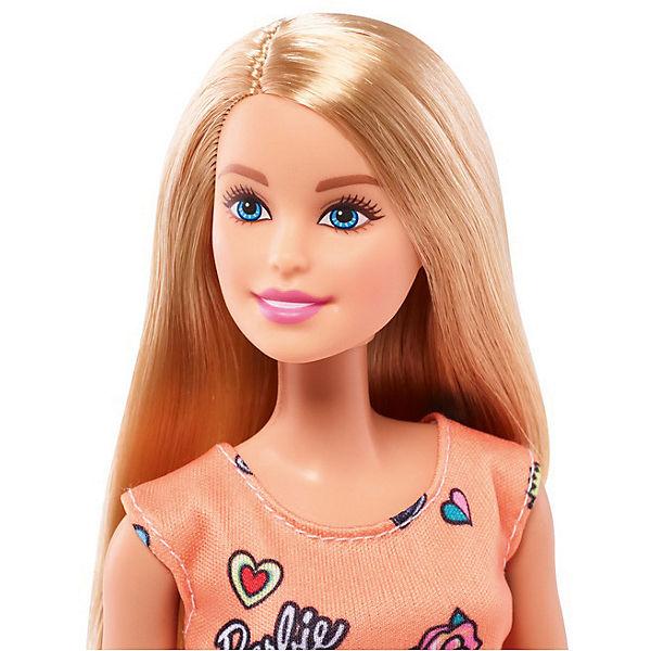 """Кукла Barbie """"Стиль"""" в оранжевом платье, 28 см"""