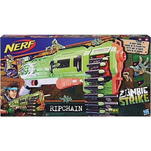 "Бластер Nerf  ""Зомби"" Цепевик от Hasbro"