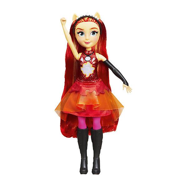 """Интерактивная кукла Equestria Girls """"Дружба энергии"""" Сансет Шиммер"""