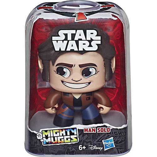 "Коллекционная фигурка Star Wars ""Mighty Muggs"" Хан Соло, 9,5 см от Hasbro"