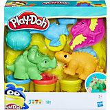 """Игровой набор Play-Doh""""Малыши-Динозаврики"""""""
