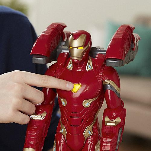"""Интерактивная фигурка Avengers """"Мстители"""" Железный человек в усиленной броне от Hasbro"""