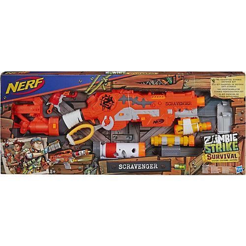 """Бластер Nerf """"ZombieStrike"""" Выживший от Hasbro"""