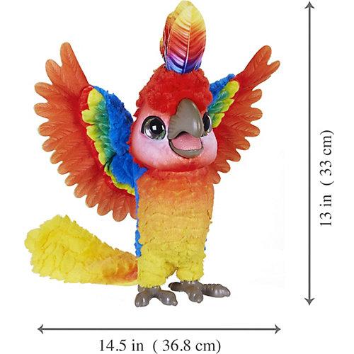 """Интерактивная игрушка FurReal Friends """"Rock a to the show bird"""" Попугай поющий Кеша от Hasbro"""
