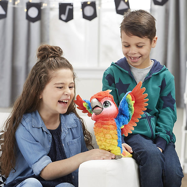 """Интерактивная игрушка FurReal Friends """"Rock a to the show bird"""" Попугай поющий Кеша"""