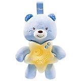"""Подвеска-ночник Chicco """"Медвежонок голубой"""""""
